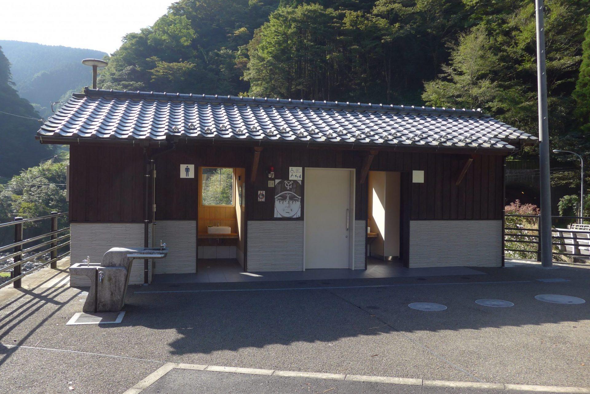 (K)熊本県五木村白滝公園の駐車場で車中泊〜紅葉や新緑も楽しみ