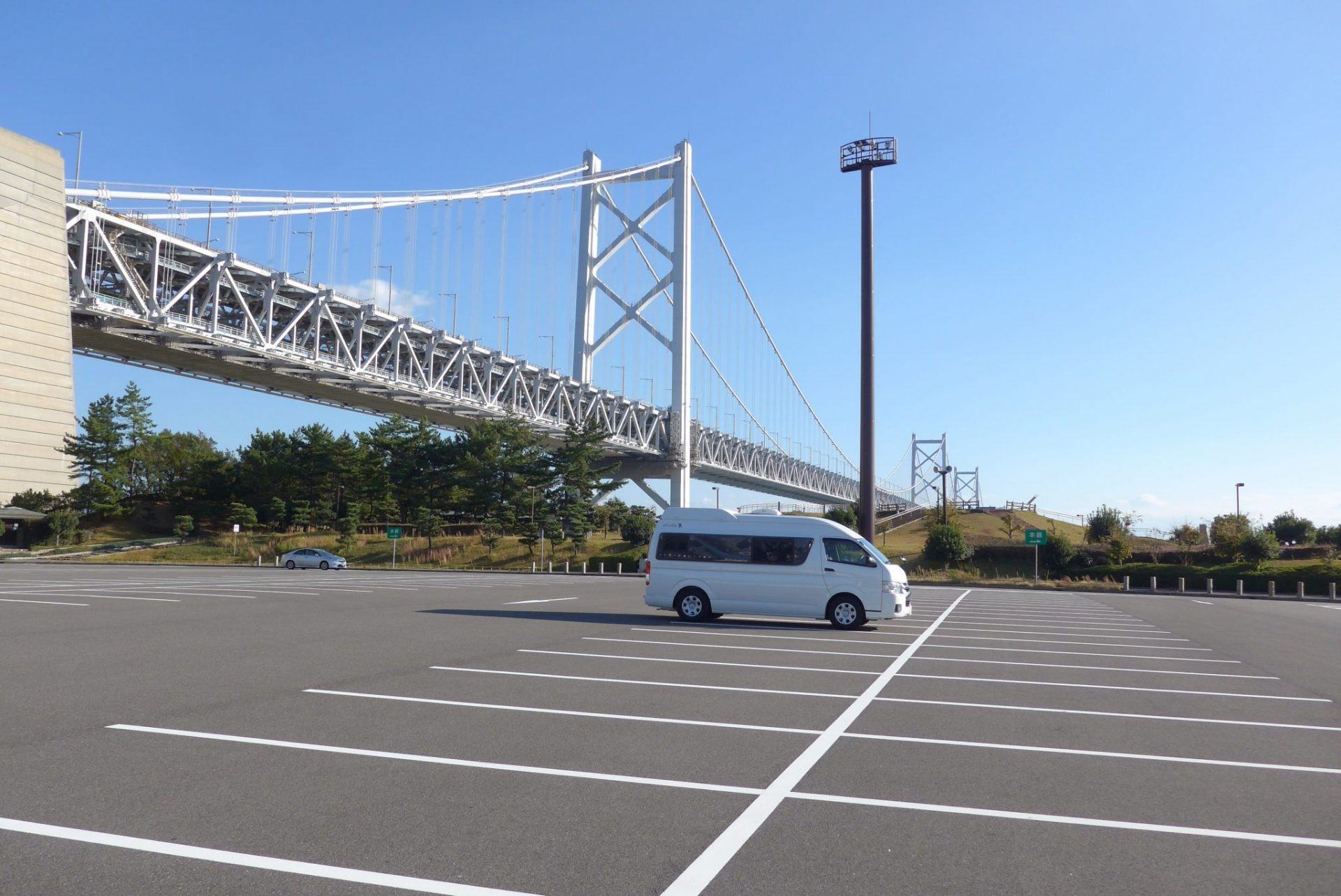 (K)瀬戸中央自動車道与島PAの車中泊〜お土産豊富で選ぶ楽しさも