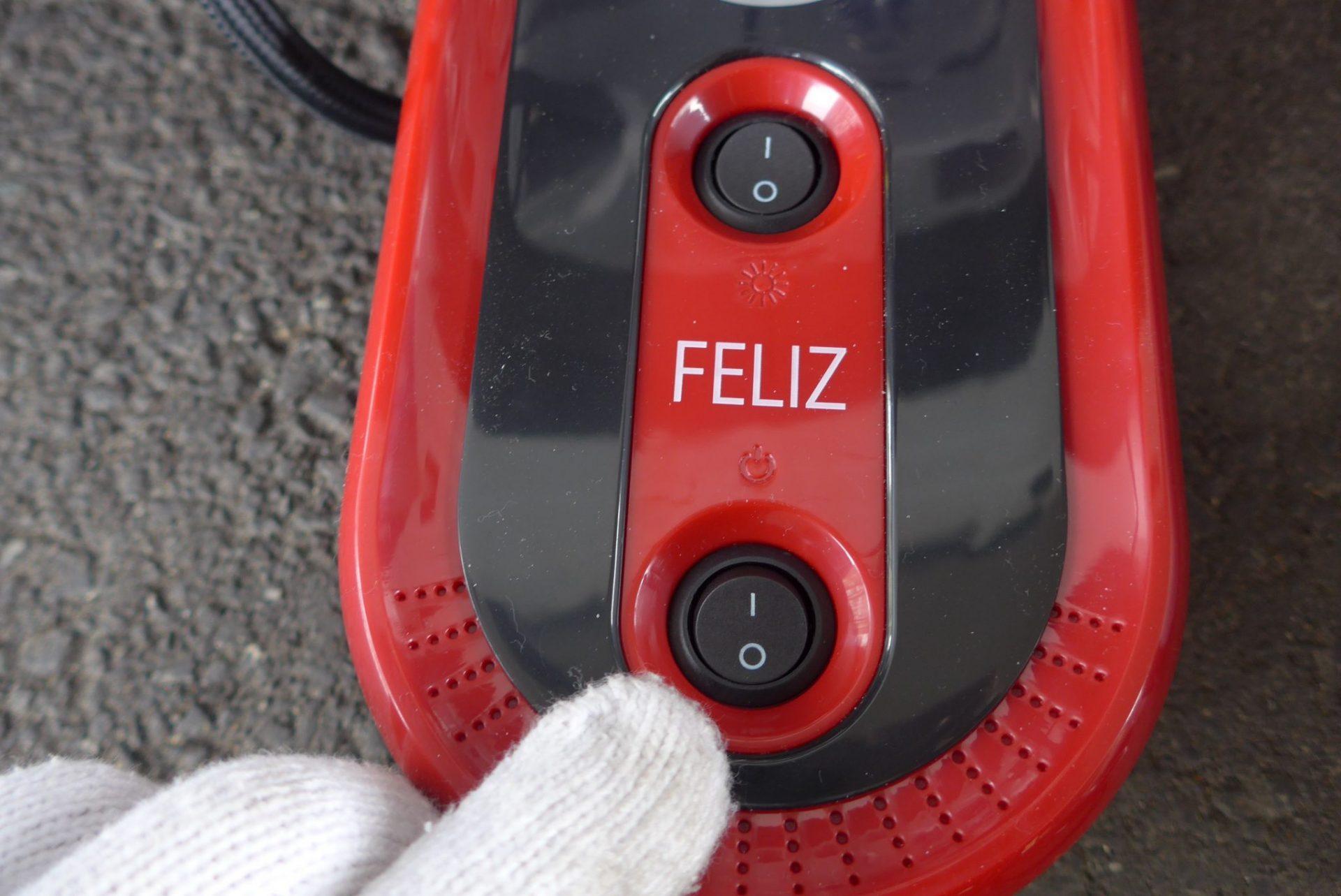 (K)FELIZ車用空気入れエアコンプレッサーはとっても便利!