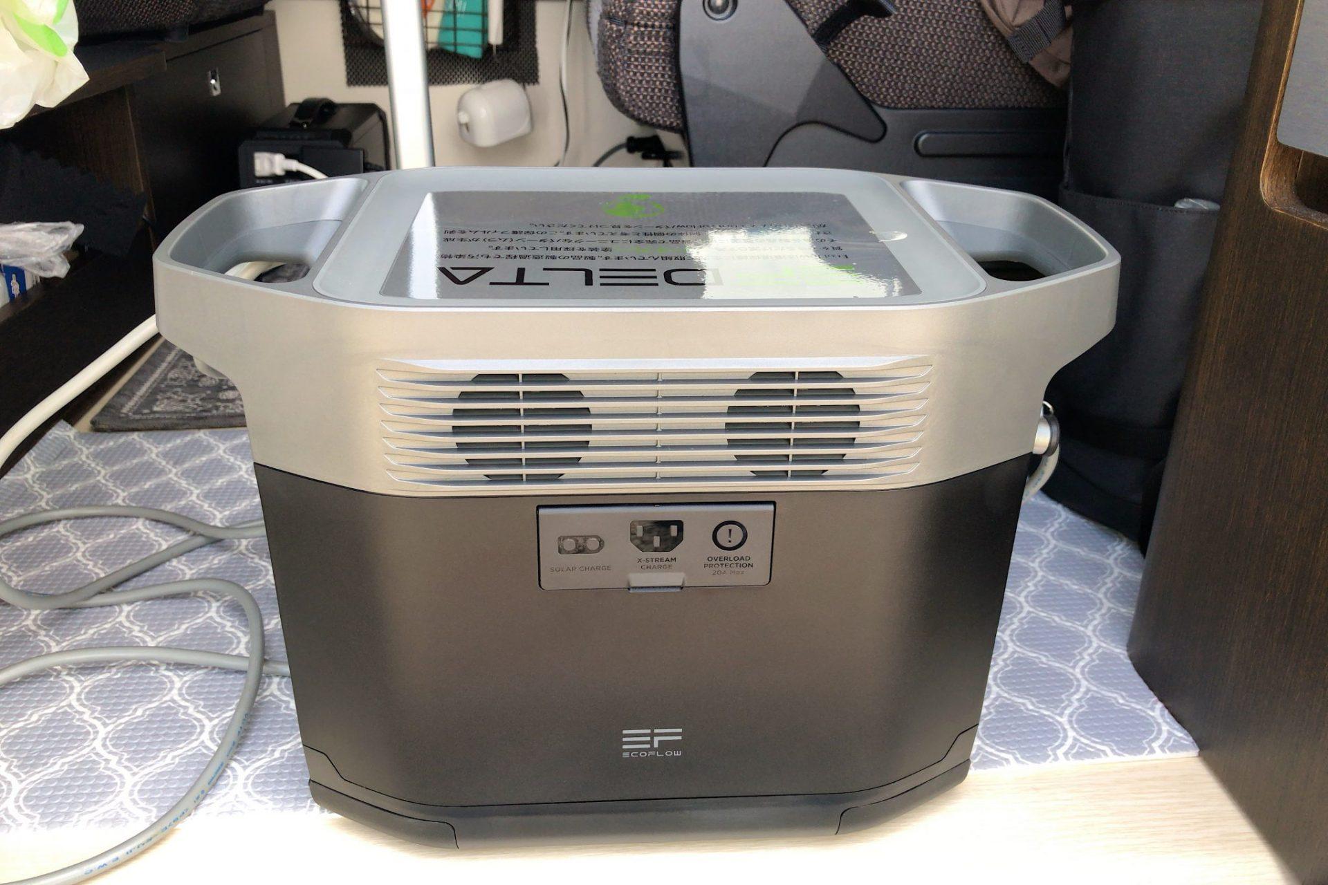 (K)1600Wのポータブル電源!口コミ高評価のイーエフデルタ!