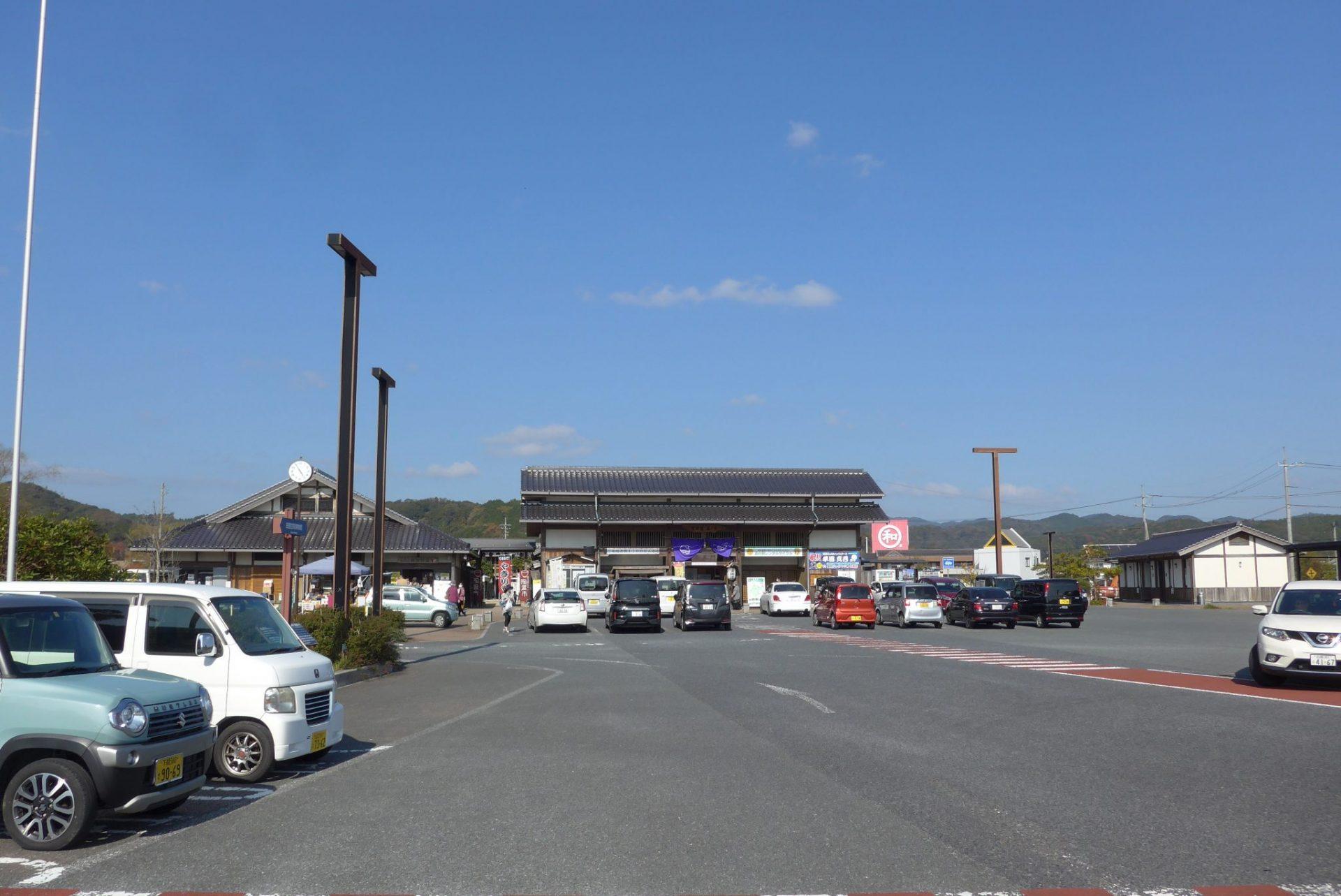 (K)道の駅蛍街道西ノ市の車中泊〜平坦駐車場と大型スーパーが便利