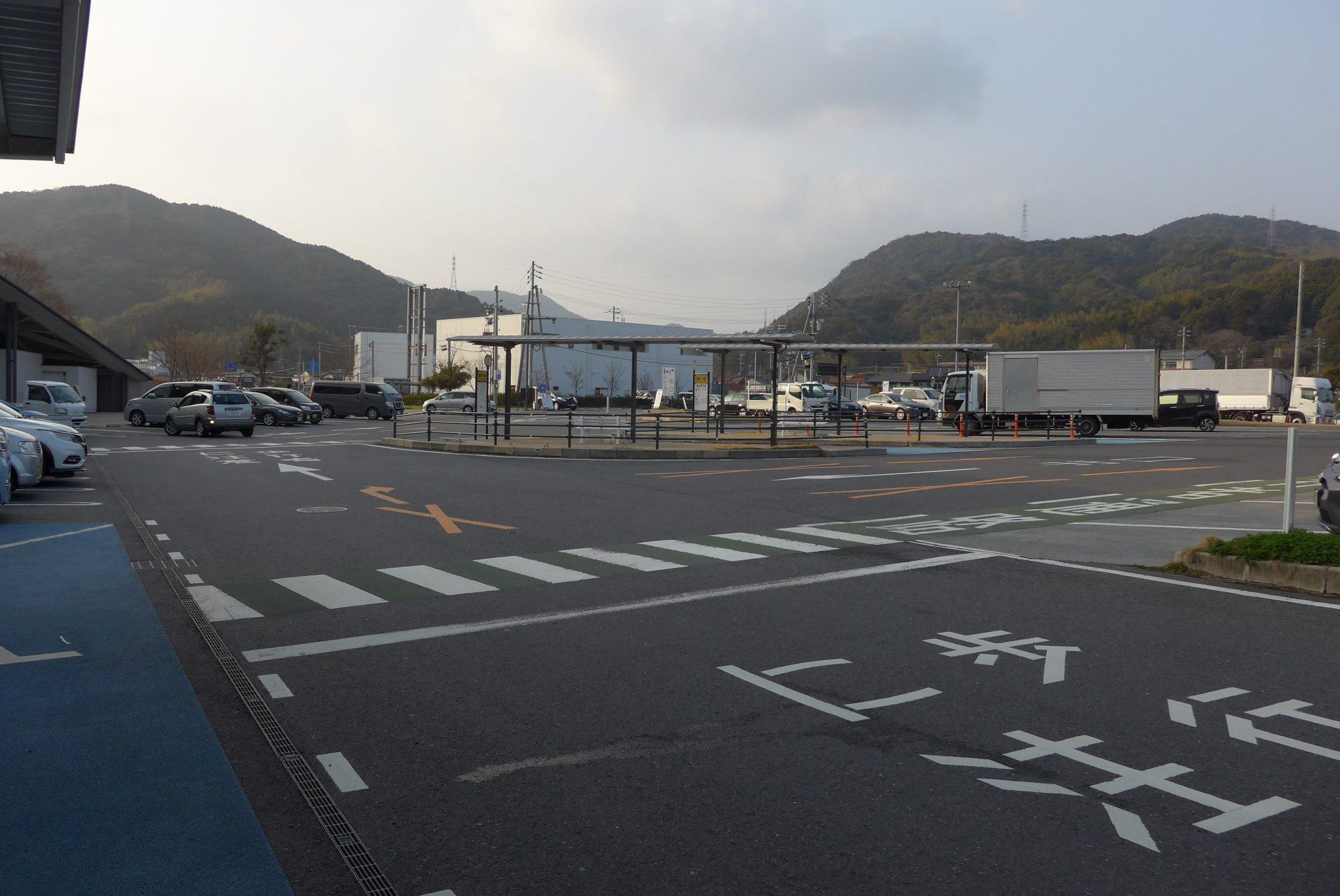 (K)道の駅ソレーネ周南の車中泊〜24時間営業の直営市場が便利
