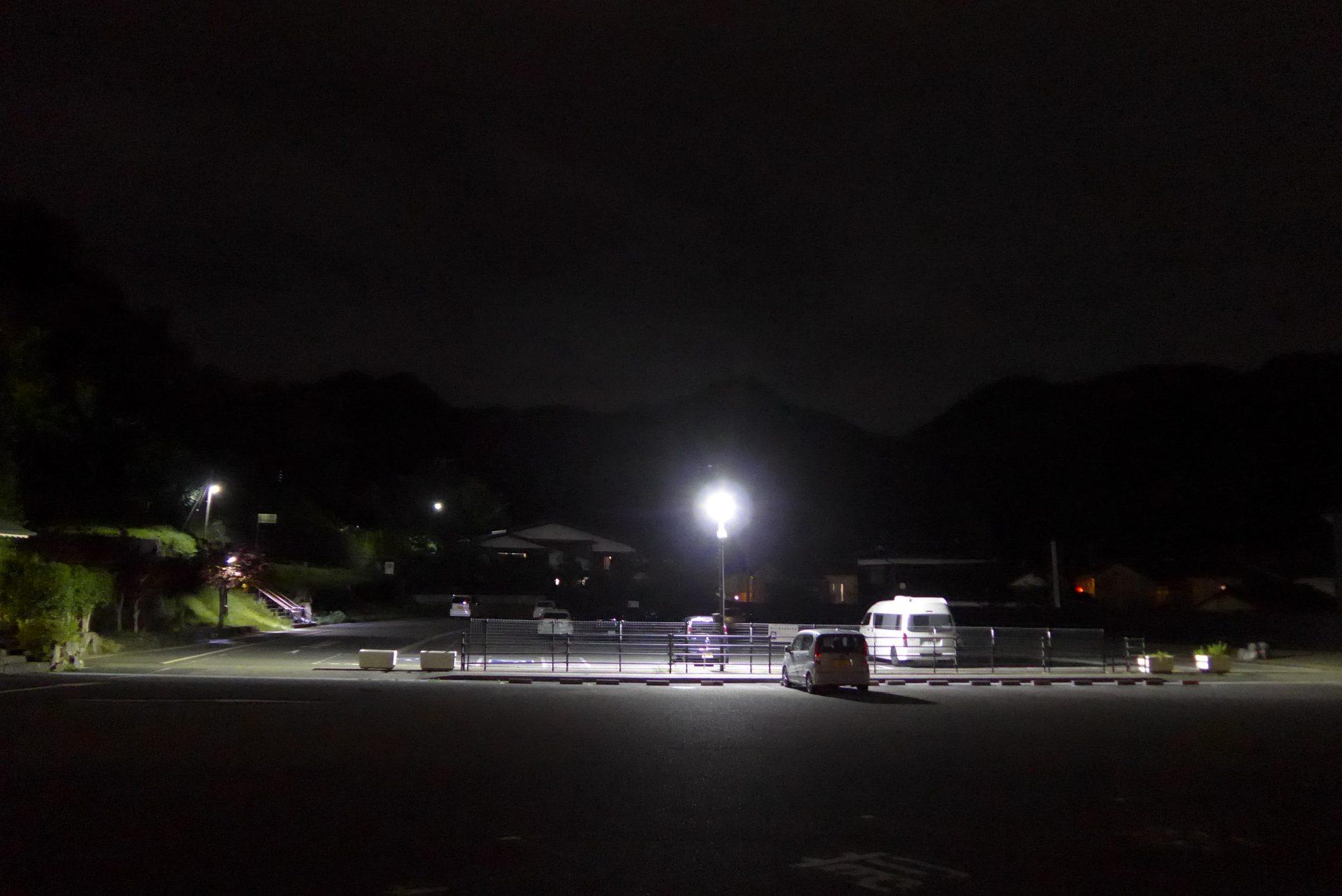 (K)瑠璃光寺香山公園駐車場の車中泊!無料利用のおすすめスポット